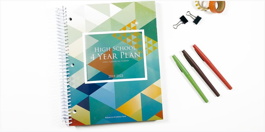 Using Your High School 4-Year Planner