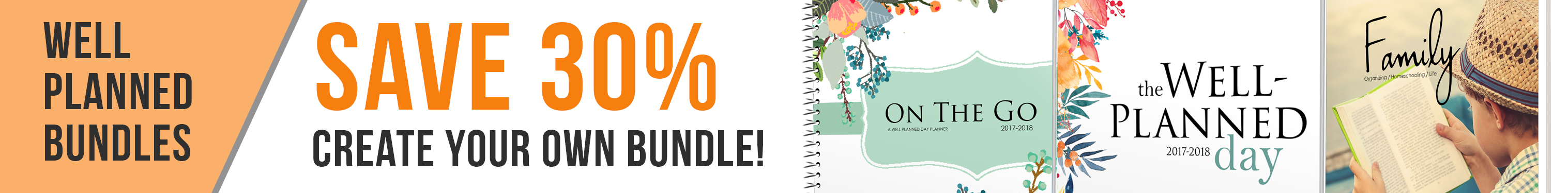 Save 30% on Planner Bundles