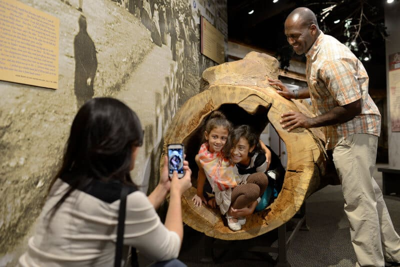 Enjoy a field trip to an interactive history museum.