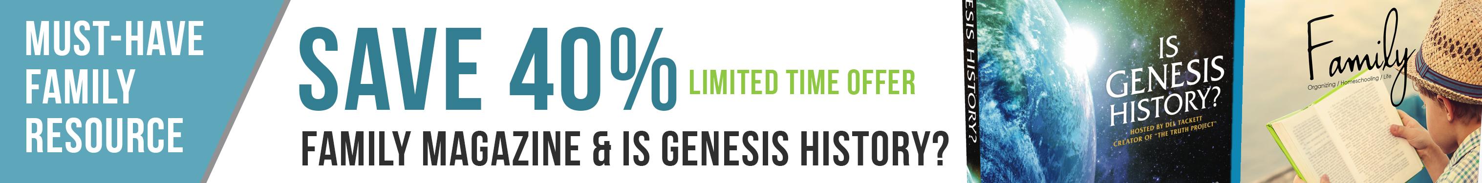 Is Genesis History Specials