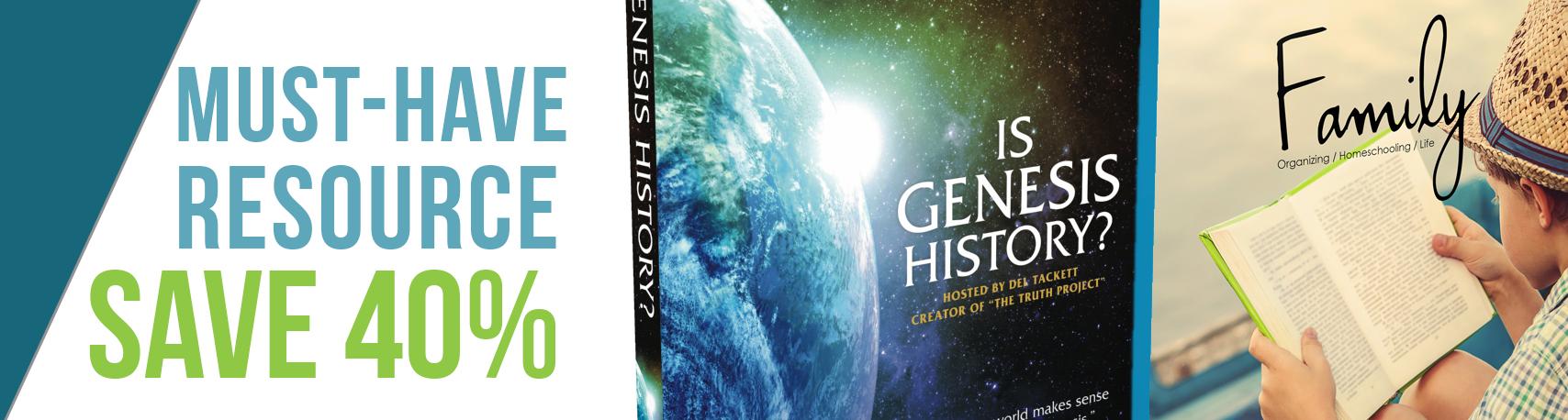 Is Genesis History Special
